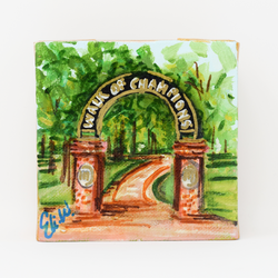 Custom Collegiate Art Mini- University of Mississippi