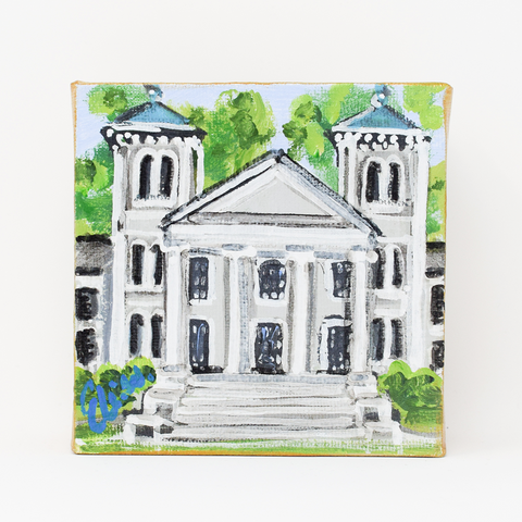 Landmark Canvas - Wofford