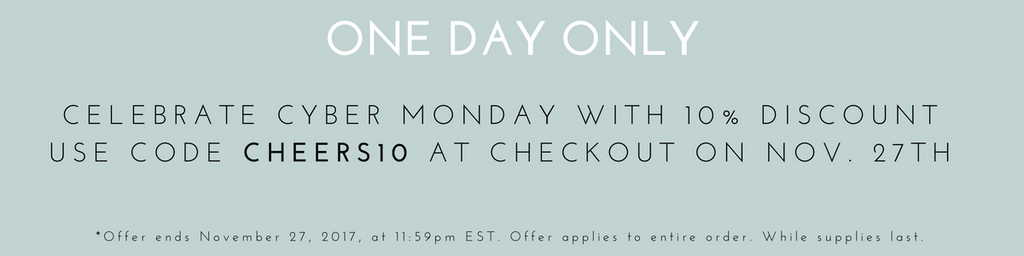 Our First Ever Cyber Monday!