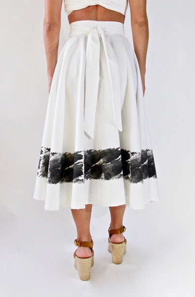Azure Skirt | Black & White