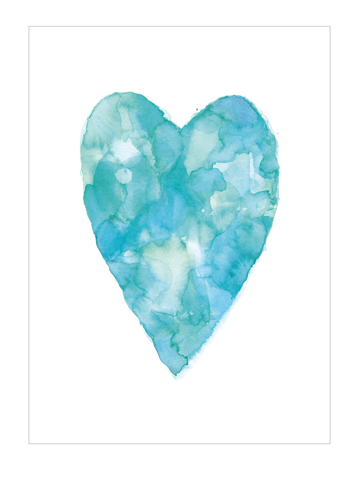 Hearts - Turquoise