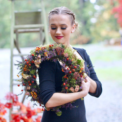 Autumn Wreath Class - October