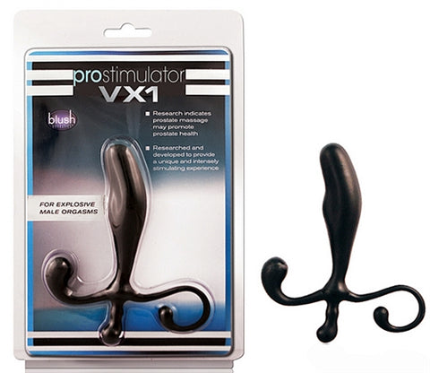 Vx1 Prostimulator Prostate Massager - Black BL-40095