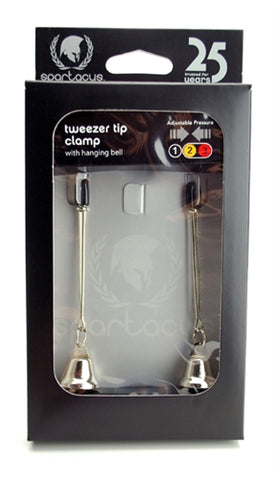 Adjustable Nickel Bells Tweezer SPF-110