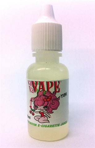 Vavavape Premium E-Cigarette Juice - Raspberry Cheesecake 15ml - 18mg VP15-RAC18MG