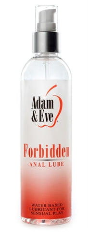 Adam and Eve Forbidden Anal Lube - 8 Oz. AE-LQ-5669-2