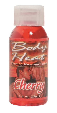 Body Heat Warming Massage Lotion - 1 Fl. Oz. - Cherry PD9553-62