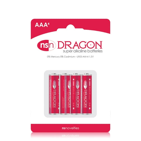 Dragon - Alkaline Batteries - AAA - 4 Pack NSN2010-20