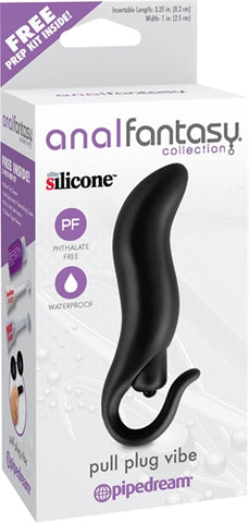 Anal Fantasy Collection Pull Plug Vibe - Black PD4630-23