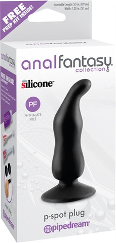 Anal Fantasy Collection P-Spot Plug - Black PD4607-23