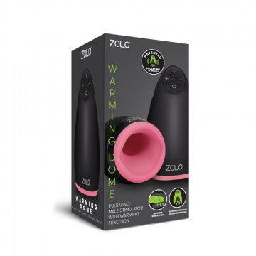 Zolo Warming Dome Pulsating Male Stimulator With Warming Function