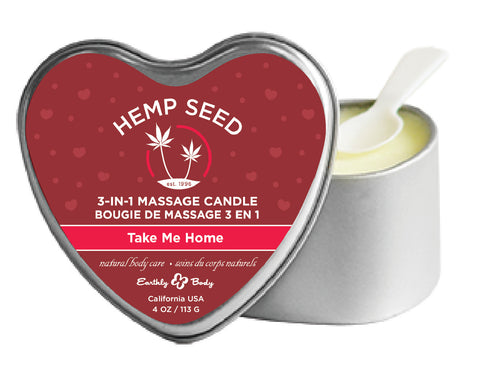 3 - in - 1 Massage Candle - Take Me Home EB-HSCV012