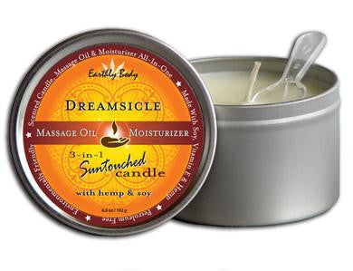3-in-1 Dreamsicle Suntouched Candle With Hemp - 6.8 oz.