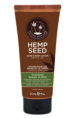 Hemp Seed Hand and Body  Lotion - Guavalava - 7 Oz.  Tube