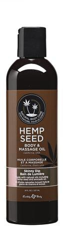 Skinny Dip Hemp Seed Body And Massage Oil- 8 oz.