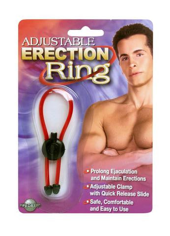 Soft Rubber Erection Ring - Red