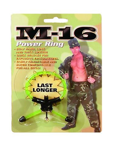 M-16 Power Ring - Green