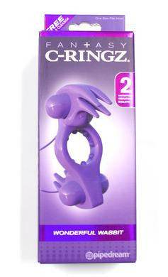 Fantasy C-ringz Wonderful Wabbit - Purple