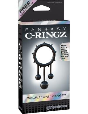 Fantasy C-ringz Original Ball Banger - Black