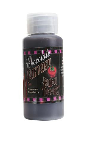 Chocolate Fantasy Body Topping 1 fl. oz. - Chocolate Strawberry