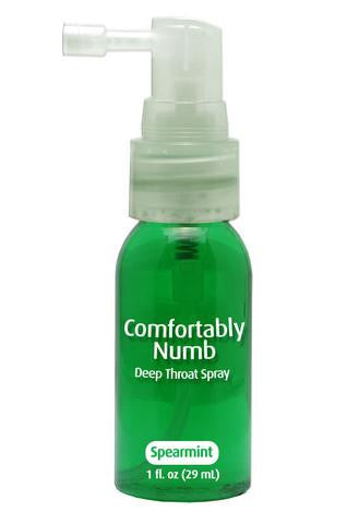 Comfortably Numb Deep Throat Spray - Spearmint