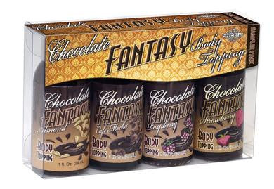 Chocolate Fantasy Sampler Pack (4-1oz Bottles)