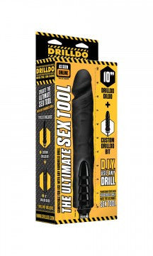 Drilldo Dildo & Drilldo Bit Set