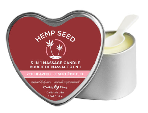 3-in-1 7th Heaven Suntouched Candle With Hemp EB-HSCV034