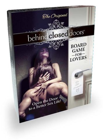 Behind Closed Doors Board Game for Lovers LG-BCD011