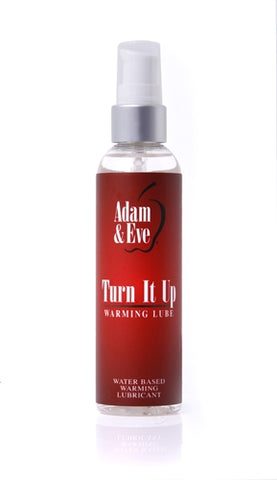Adam and Eve Turn It Up Warming Lubricant - 4 Oz. AE-LQ-7854-2