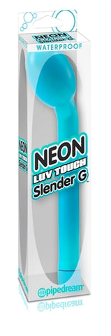 Waterproof Neon Luv Touch Slender G - Blue PD1411-14
