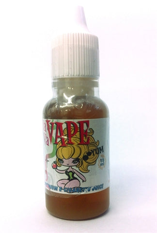 Vavavape Premium E-Cigarette Juice - Light Tobacco 15ml - 0mg VP15-LT0MG