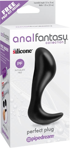 Anal Fantasy Collection Perfect Plug - Black PD4622-23