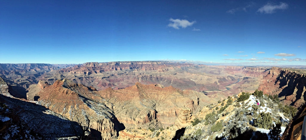 Grand Canyon View from Southern Entrance
