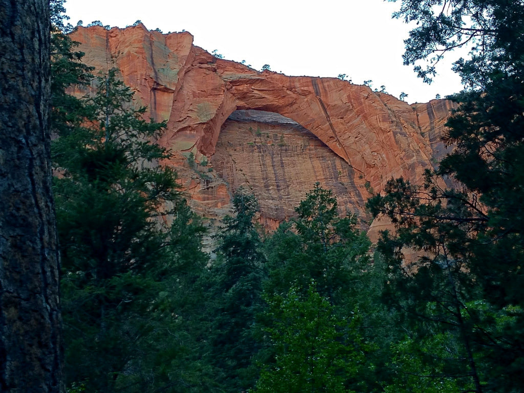 Hidden Arch Zion National Park Utah