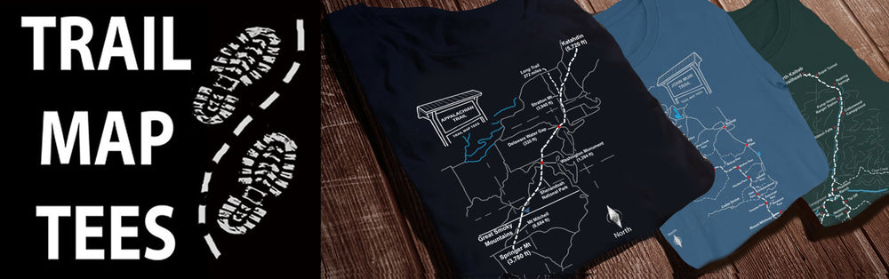 Trail Map Tees