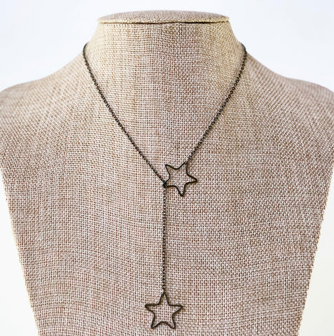 Star Lovers Lariat | Gunmetal
