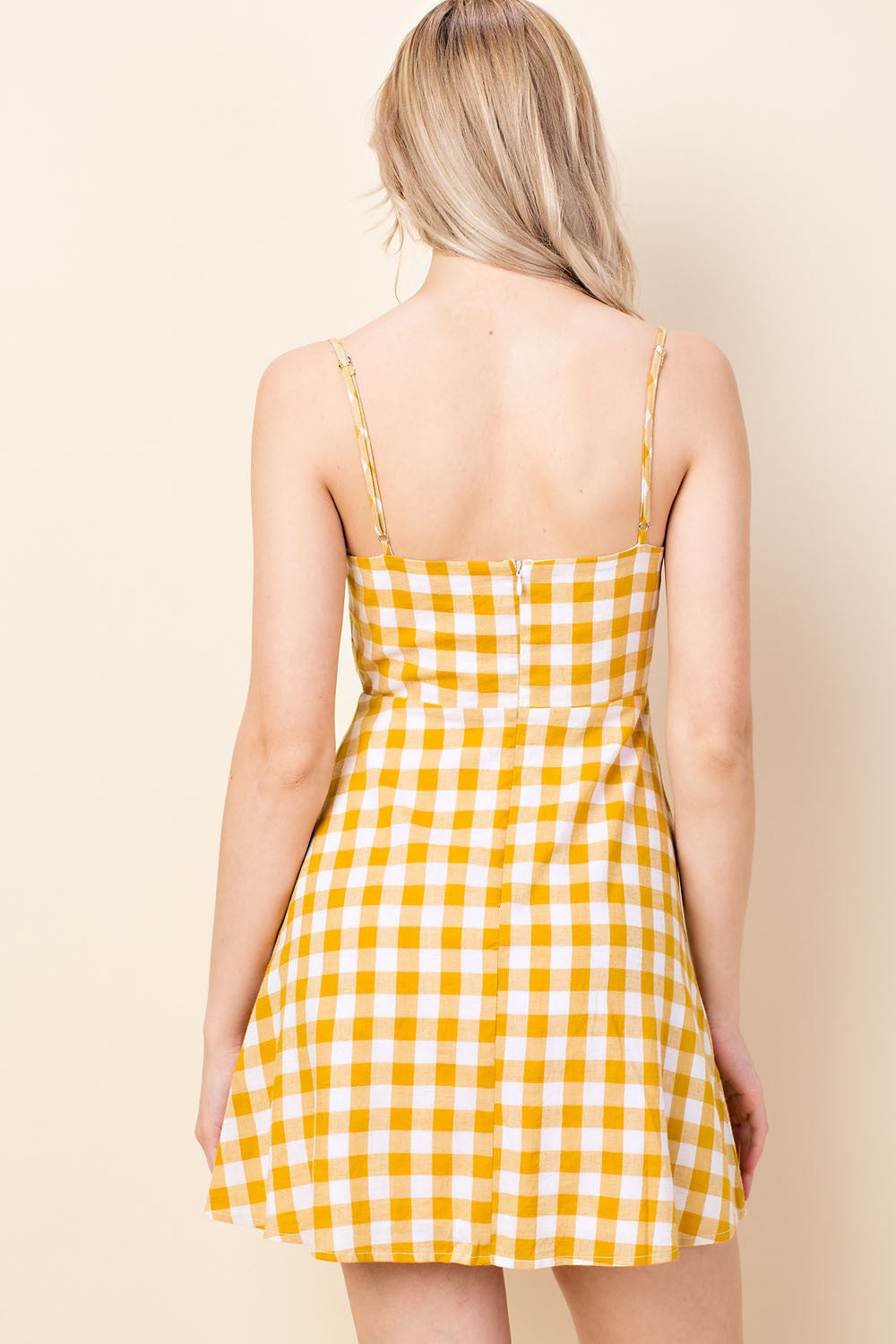 Here Comes The Sun Gingham Dress
