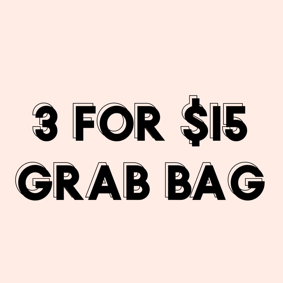 3 For $15 Grab Bag