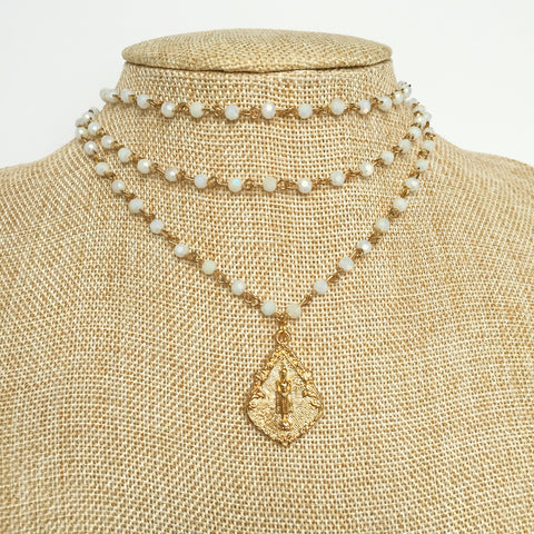 Fresh Water Pearl Wrap Necklace