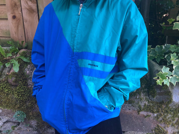 Vintage Unisex Retro Windbreaker Festival Shell Jacket