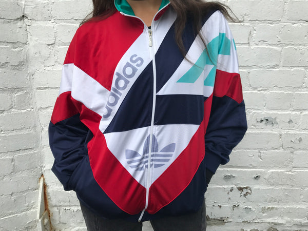 Adidas Vintage Unisex Colourful Track Jacket