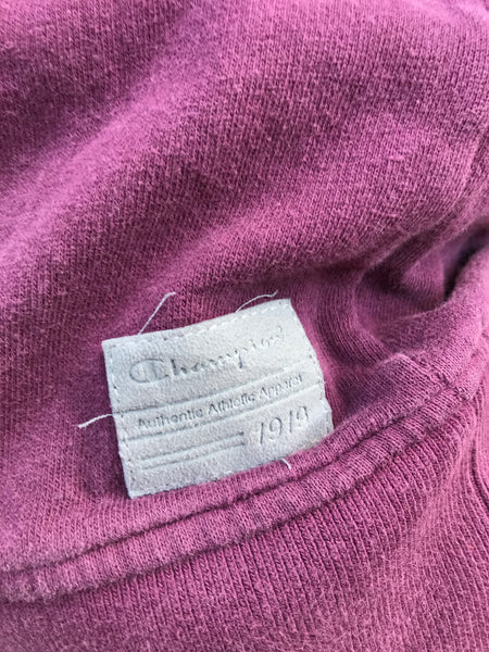 Vintage Champion Unisex Sweater / Sweatshirt / Jumper Purple