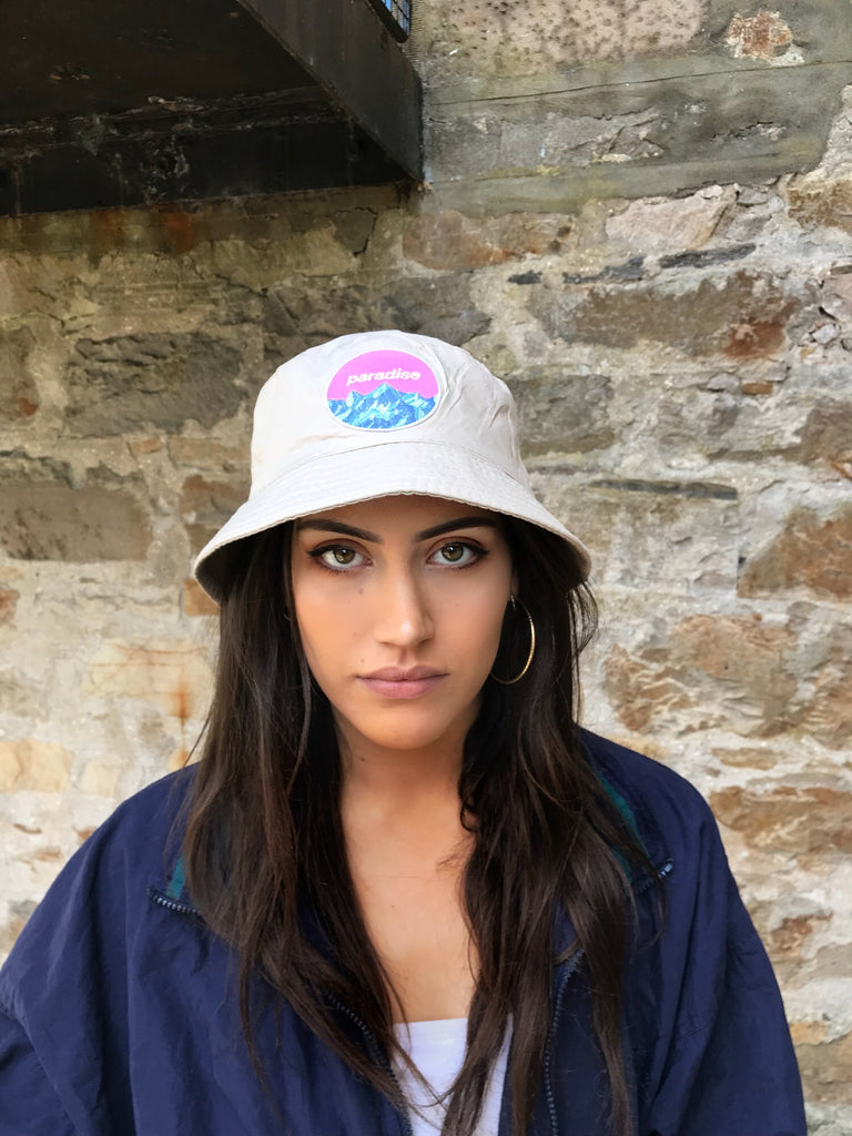 Love Route Paradise Unisex Festival Bucket Hat