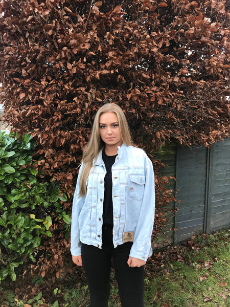 Vintage Unisex Light Blue Denim Jacket