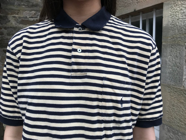 Vintage Polo Ralph Lauren Unisex Stripe Polo Shirt