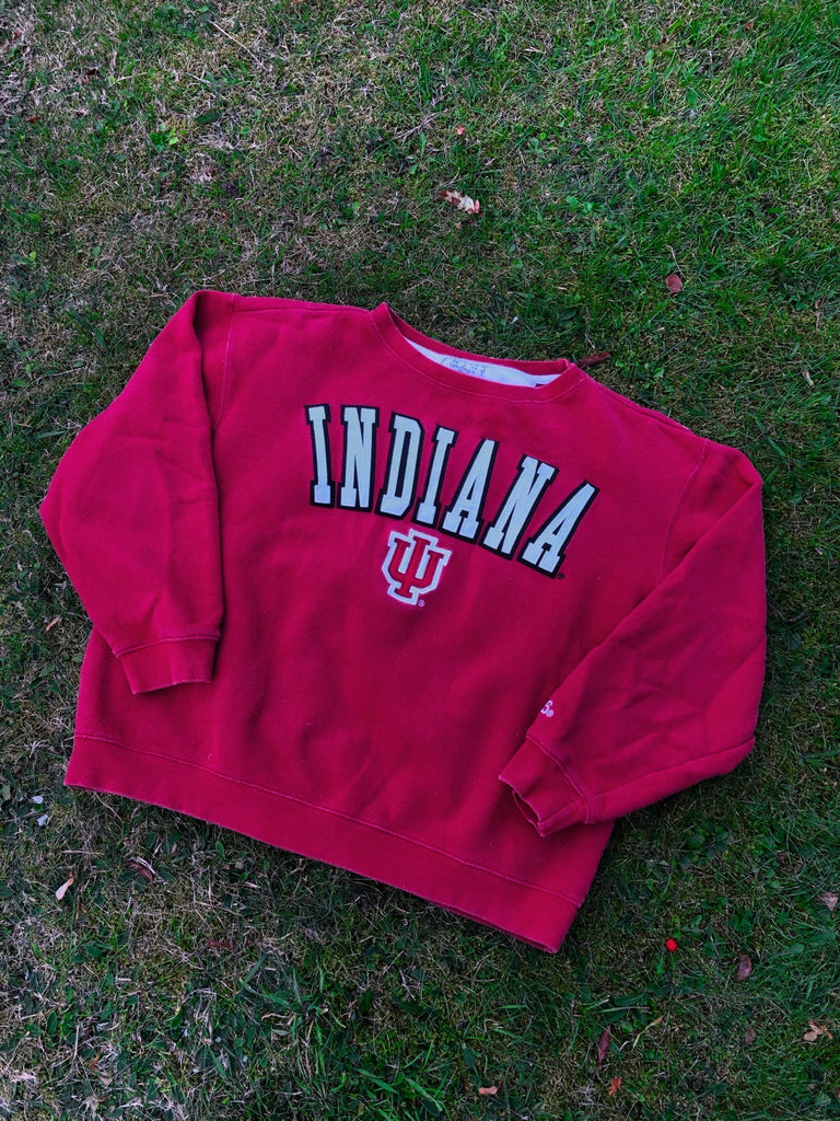 Vintage USA Graphic Print Unisex Sweatshirt / Jumper / Sweater Red