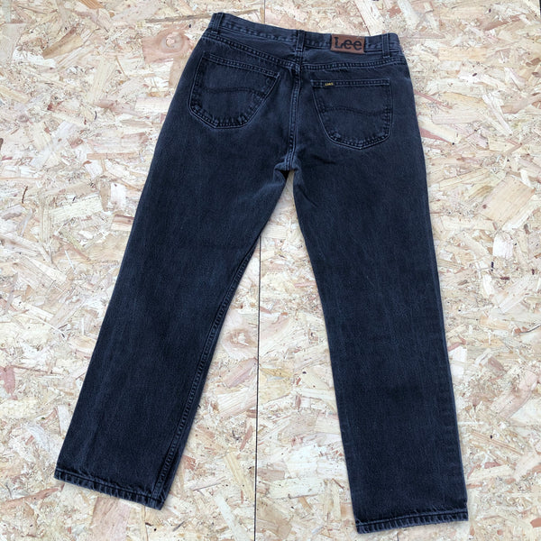 Vintage Lee Denim Jeans Faded Black