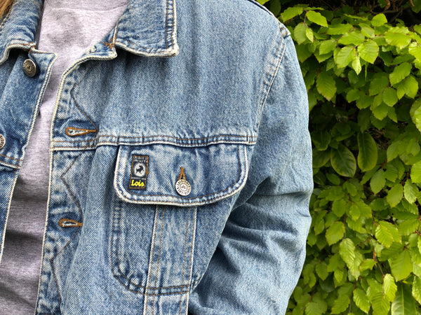 Vintage Oversized Unisex Blue Denim Jacket