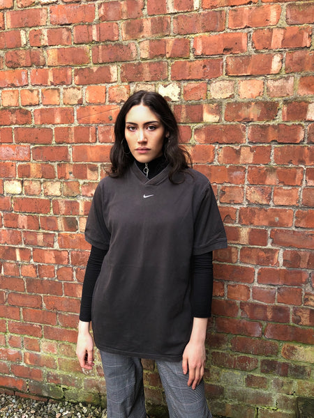 Vintage Nike Unisex Short Sleeve Oversized Baggy T Shirt / Tee Black